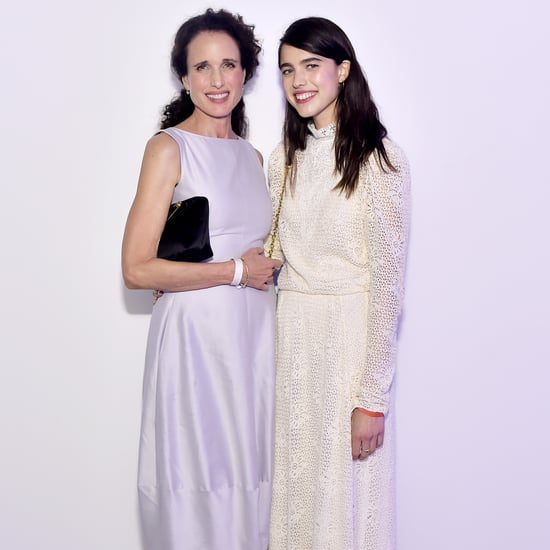 Pictures of Margaret Qualley and Andie MacDowell