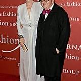 Meryl Streep and Alber Elbaz
