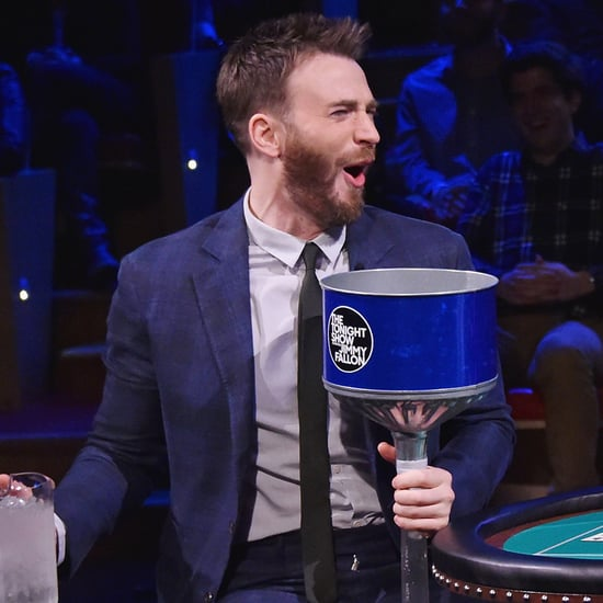 Chris Evans Plays Frozen Blackjack on The Tonight Show 2016