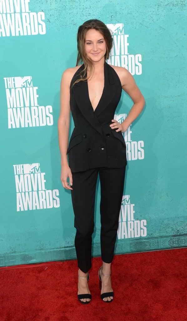 Shailene Woodley in Stella McCartney at the 2012 MTV Movie Awards