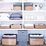 Threshold Seagrass Rectangular Wicker Storage Basket