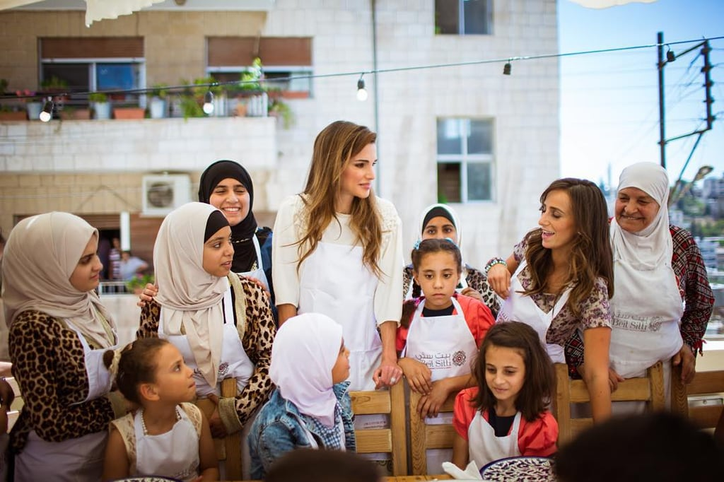 Queen Rania's Most Charitable Moments