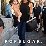 Victoria Beckham was out in NYC with Harper.
