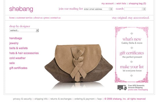 Fab Site: ShopShebang.com