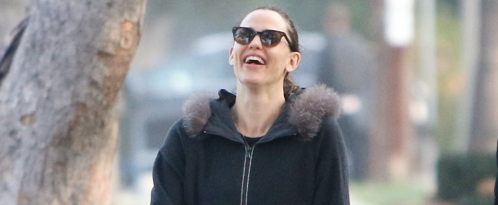 Jennifer Garner Has a Laugh While Walking With a Friend in LA