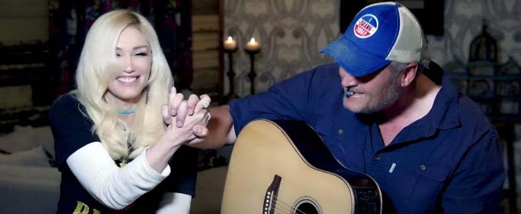 Gwen Stefani and Blake Shelton Perform on The Tonight Show