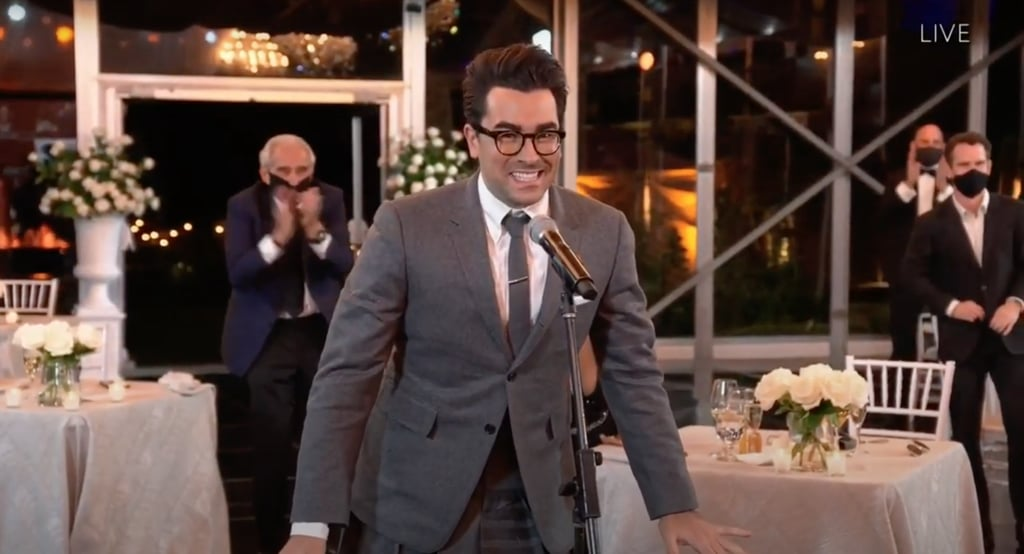 Dan Levy Honors David Rose With 2020 Emmys Outfit