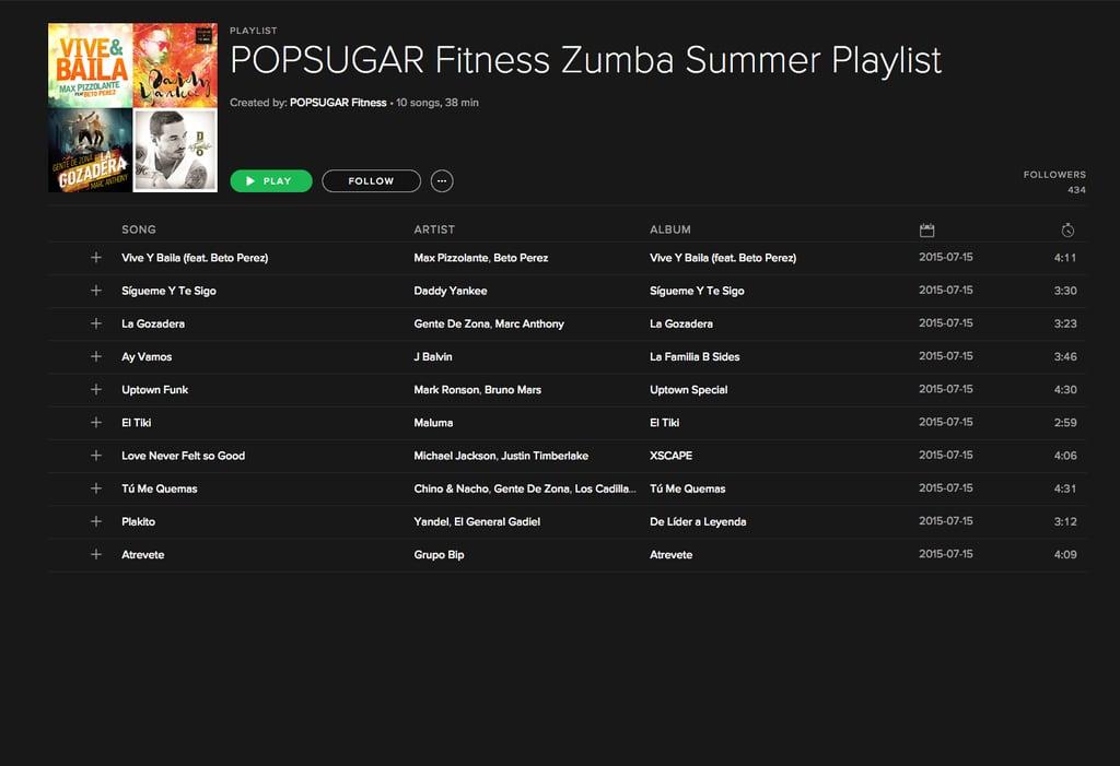 Zumba-Powered