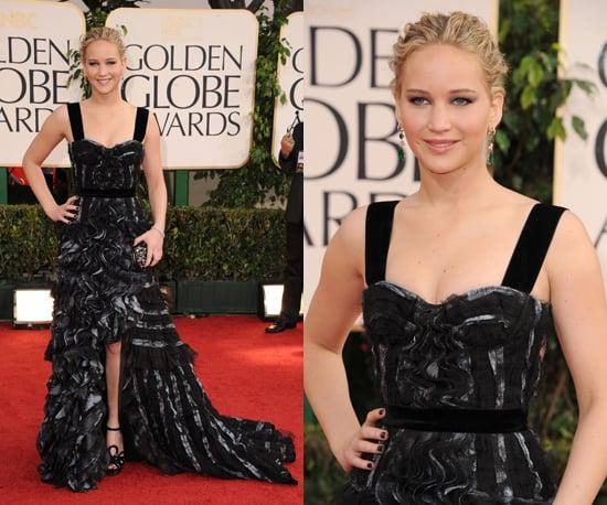 Jennifer Lawrence at 2011 Golden Globe Awards
