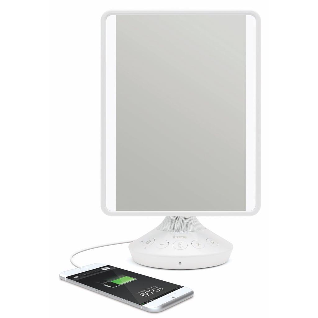 iHome Reflect Adjustable Vanity Mirror With Bluetooth