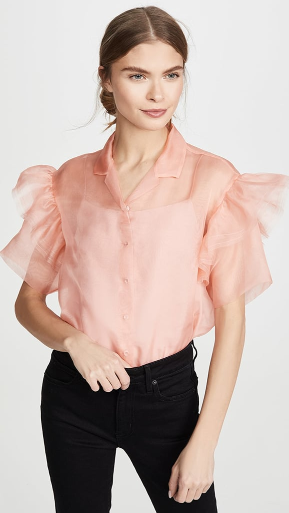 Anais Jourden Organza Shirt