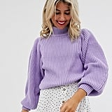 ASOS Design Chunky Rib Sweater