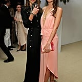 Models Alessandra Ambrosio and Lily Aldridge stepped out in style for the 11th annual CFDA/Vogue Fashion Fund Awards in NYC on Monday.