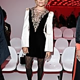 Sienna Miller at the Gucci Milan Fashion Week Show