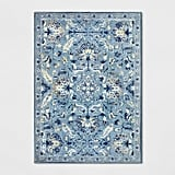 Chenille Tapestry Persian Floral Woven Rug