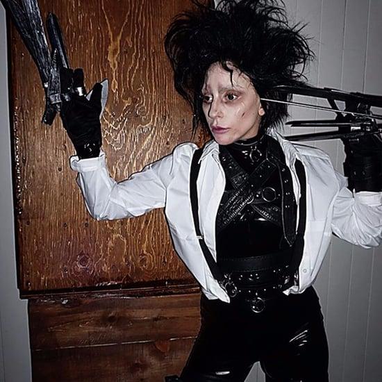 Lady Gaga Edward Scissorhands Halloween Costume 2017