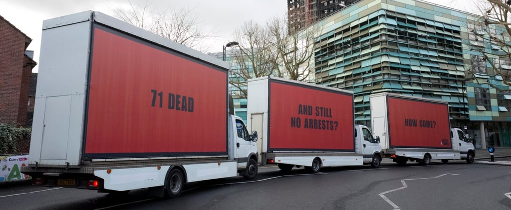 Grieving Londoners Just Sent a Powerful Message Inspired by the Movie Three Billboards