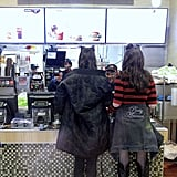 Bella Hadid and Kendall Jenner Made a Pit Stop at McDonald's