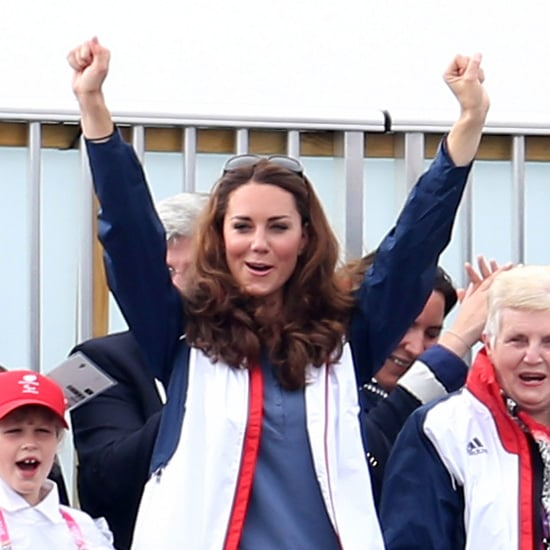 Kate Middleton Excited Pictures at 2012 Paralympics Rowing Event