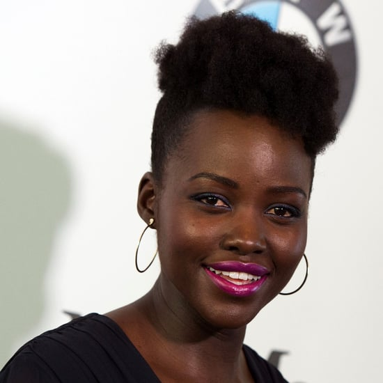 Lupita Nyong'o's High School Hairstyle Photo