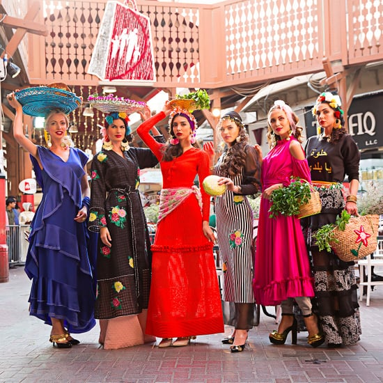 Fashion Show Takes Over Dubai Gold Souk – Pictures