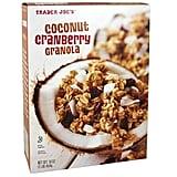 Coconut Cranberry Granola ($2)