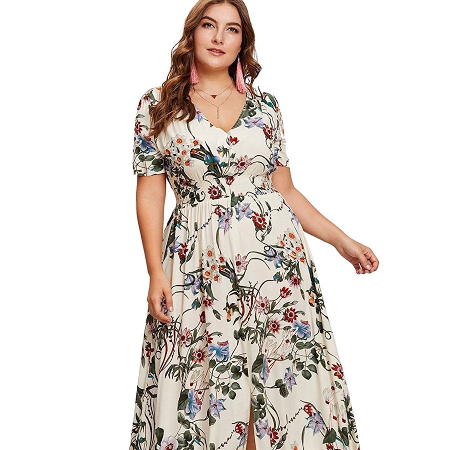 Plus-Size Dresses on Amazon 2018 | POPSUGAR Fashion
