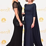 Christine Baranski and Lily Cowles at the 2014 Emmy Awards