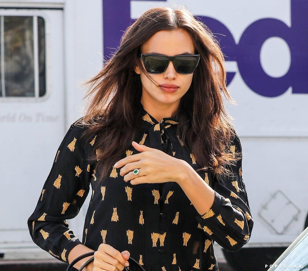 Irina Shayk S Engagement Ring Popsugar Fashion