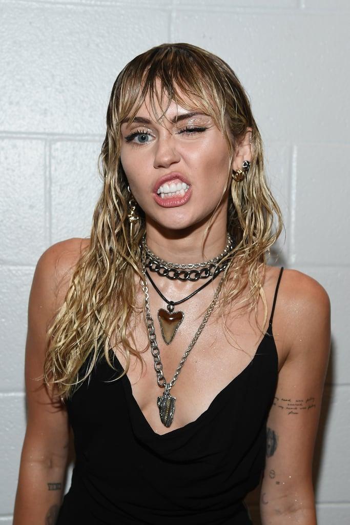 Miley Cyrus's New Tattoos at the MTV VMAs 2019