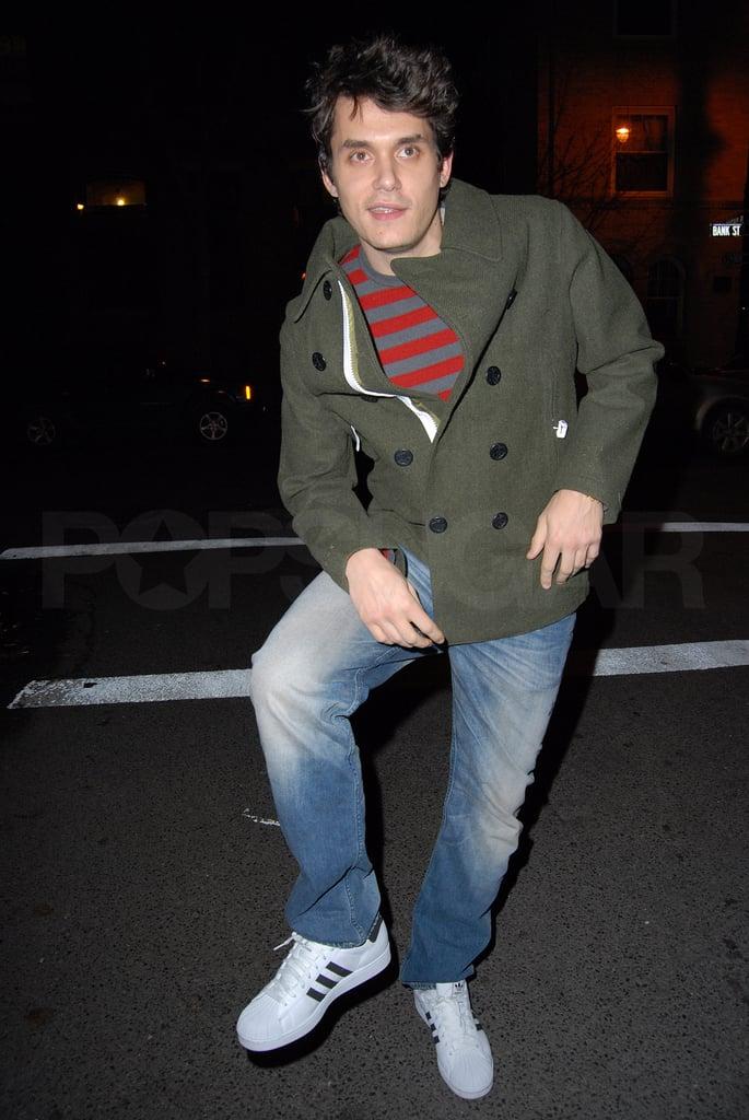 John Mayer at the Waverly Inn