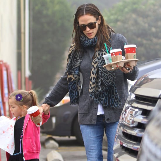 Jennifer Garner and Seraphina Grab Coffee in LA | Pictures
