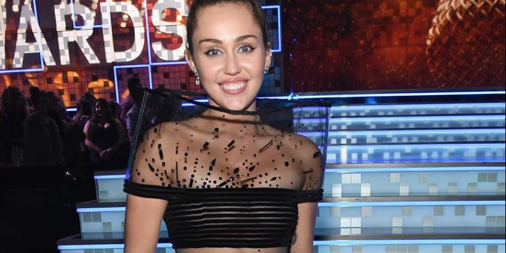 Grammys 2019 Australia: Miley Cyrus Black Dress At The 2019 Grammys