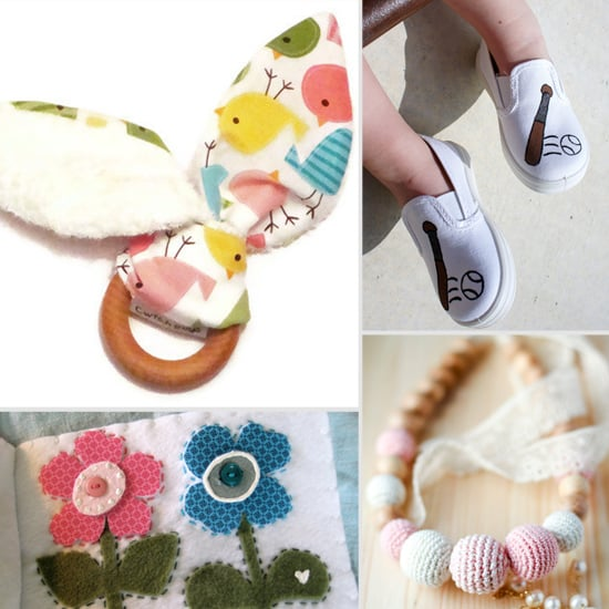 10 Fun Etsy Finds to Help Mom and Tot Jump Into Spring