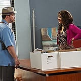David Zayas as Angel Batista and Lauren Velez as Lt. Maria Laguerta on Dexter.  Photo courtesy of Showtime