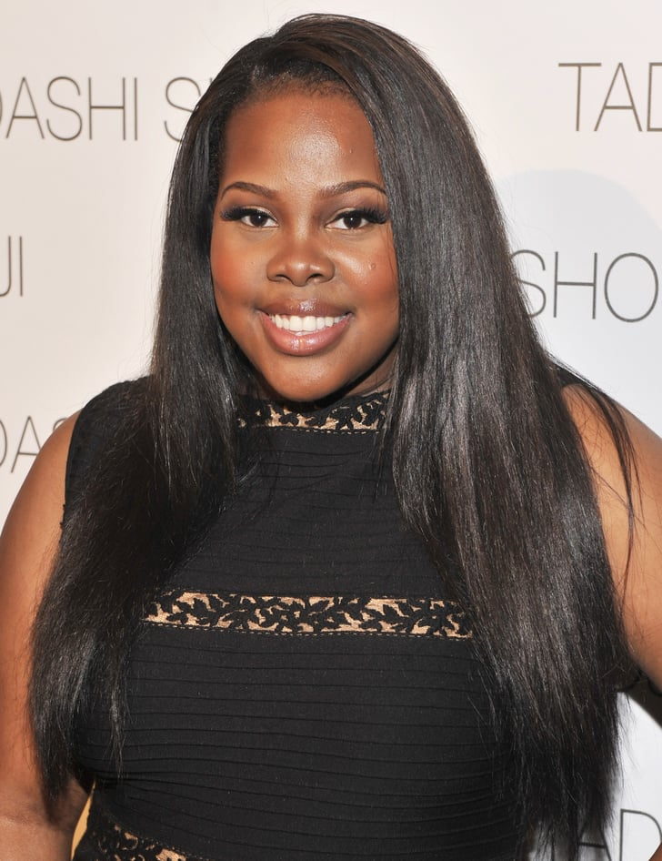 More Straight Guys Here Follow: Amber Riley's Long, Straight Hair Is More Than Beautiful