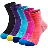 Veatree Women's Summer Hiking Socks (5 Pack)