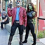 Starlord and Gamora — Guardians of the Galaxy