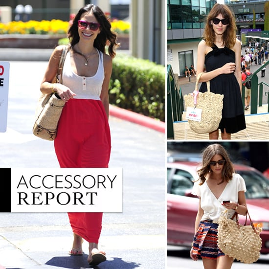 Best Straw Bags For Summer 2012