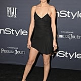 Selena wore this sexy little black dress by Jacquemus at the 2017 InStyle Awards.