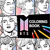 BTS Colouring Book