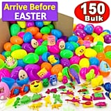 iGeeKid 150 Piece Toys Filled Easter Eggs