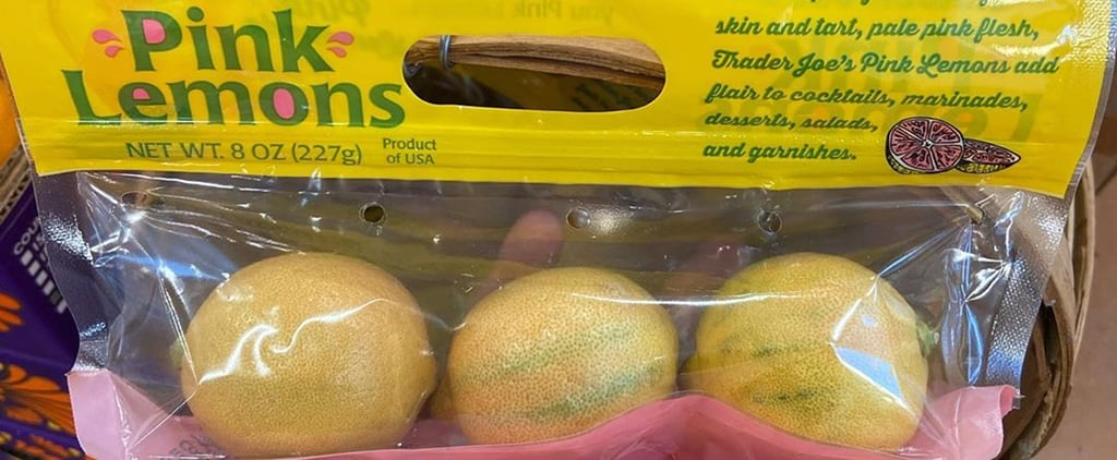 Trader Joe's Is Selling Pink Lemons
