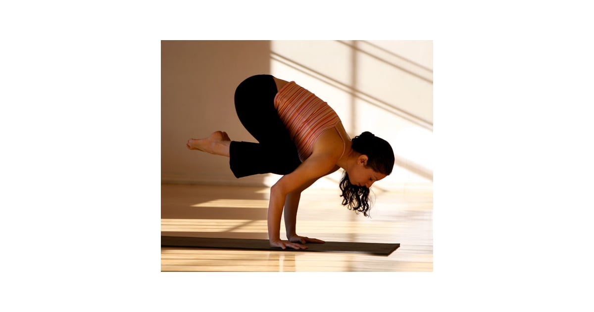 Crow Fun And Challenging Yoga Poses Popsugar Fitness