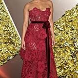 Priyanka Chopra's Oscar de la Renta Dress September 2019