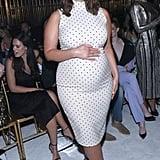 Ashley Graham at the Christian Siriano New York Fashion Week Show