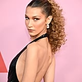 Bella Hadid's Curly Ponytail in 2019