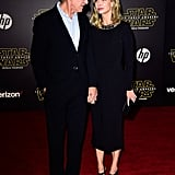 Pictured: Calista Flockhart and Harrison Ford