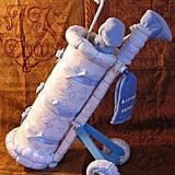 Golf Clubs Diaper Cake