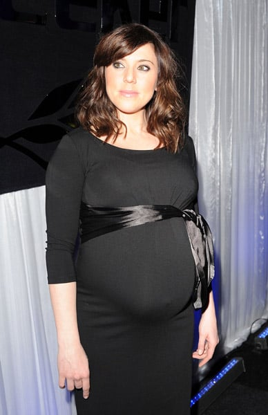 photos of pregnant melanie chisholm at a celebration of